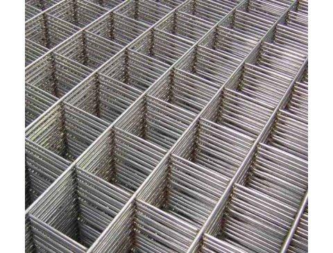 Сітка арматурна для стяжки 1*2м (дріт-3,8 мм, вічко 50*50 мм, ЕП)