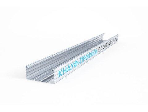 Профіль направляючий KNAUF UD-27, 3 м (0,6 мм)