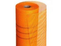 Сітка скловолоконна FIBERGLASS помаранчева (160 г/м²), 50м²