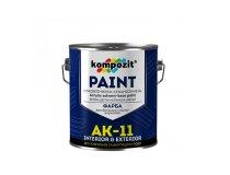 Фарба для бетонних підлог, Kompozit AK - 11, База С (прозора), 9 кг