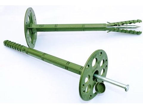 Дюбель з термоголовкою Анкер 10*160 мм (цвях металевий оцинкований)