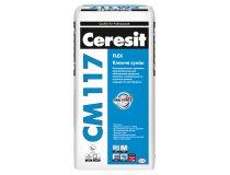 Клей для плитки еластичний, Ceresit CM 117, 25 кг