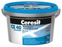 Фуга, Ceresit CE 40 Aquastatic, Світло-сірий (10), 2 кг