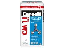Клей для плитки та керамограніта, Ceresit CM 11 Plus, 25 кг