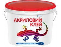 Клей супер-липучка, Полімін Клей Акриловий, 1 кг