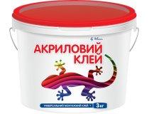 Клей супер-липучка, Полімін Клей Акриловий, 3 кг