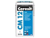 Клей для плитки та штучного каменю, Ceresit CM 12, 25 кг