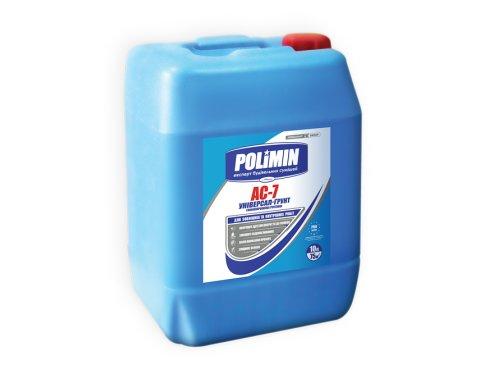 Ґрунтівка глибокого проникнення, Polimin AC-7, 5 л