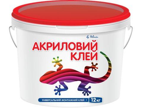 Клей супер-липучка, Полімін Клей Акриловий, 12 кг