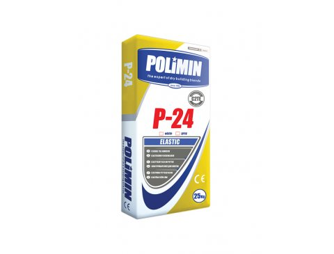 Клей для плитки для підлог з підігрівом, Полімін П-24 (сірий), 25 кг